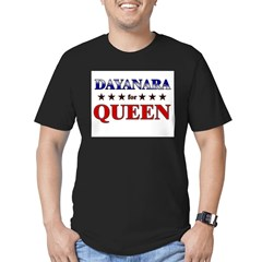 DAYANARA for queen Men's Fitted T-Shirt (dark)