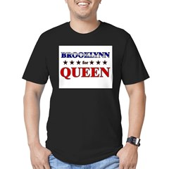 BROOKLYNN for queen Men's Fitted T-Shirt (dark)