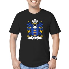 Arthur II (ab uthr pendragon-King Arthur) Men's Fitted T-Shirt (dark)