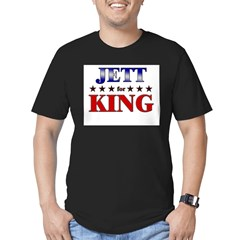 JETT for king Men's Fitted T-Shirt (dark)