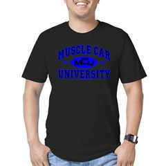 Muscle Car U Men's Fitted T-Shirt (dark)