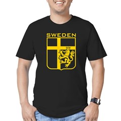 Sweden Men's Fitted T-Shirt (dark)