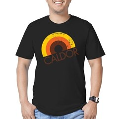 Caldor Disount Bin Men's Fitted T-Shirt (dark)