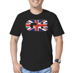 Great Britain (UK GB & NI) Men's Fitted T-Shirt (dark)