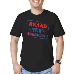 Brand New American Men's Fitted T-Shirt (dark)