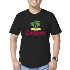 Cancun Therapy - Men's Fitted T-Shirt (dark)