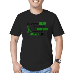 Hero I Never Knew 1 (Mom) Men's Fitted T-Shirt (dark)