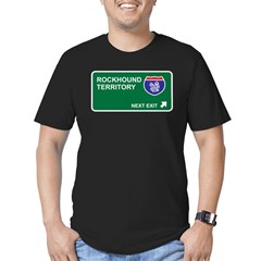 Rockhound Territory Men's Fitted T-Shirt (dark)