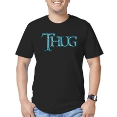 Thug Men's Fitted T-Shirt (dark)