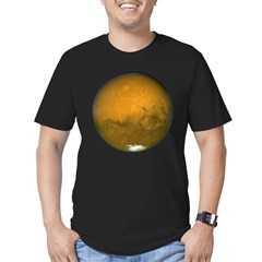 Mars Men's Fitted T-Shirt (dark)