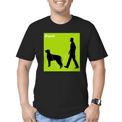 Irish Wolfhound Men's Fitted T-Shirt (dark)