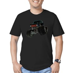 Monster Crawler II Men's Fitted T-Shirt (dark)