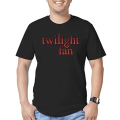 Twilight Fan Red Men's Fitted T-Shirt (dark)