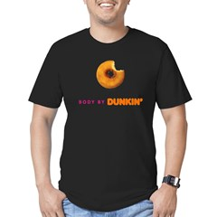 Body by Dunkin Men's Fitted T-Shirt (dark)