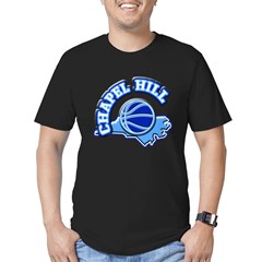 Chapel Hill Basketbal Men's Fitted T-Shirt (dark)