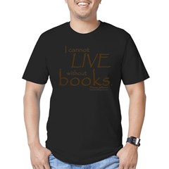 Without Books Men's Fitted T-Shirt (dark)