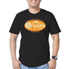 Arnold's Drive In Men's Fitted T-Shirt (dark)