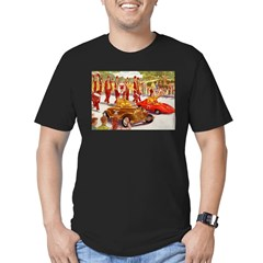 Shriner Mini Cars Men's Fitted T-Shirt (dark)
