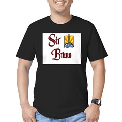 Sir Bruno Men's Fitted T-Shirt (dark)