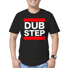 DUBSTEP_cafepress.psd Men's Fitted T-Shirt (dark)