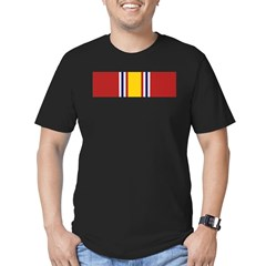 National Defense Medal Men's Fitted T-Shirt (dark)