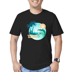 California Dreamin' Men's Fitted T-Shirt (dark)