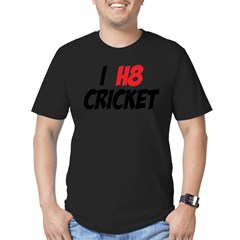 Cricke Men's Fitted T-Shirt (dark)