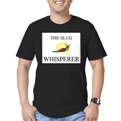 The Slug Whisperer Men's Fitted T-Shirt (dark)