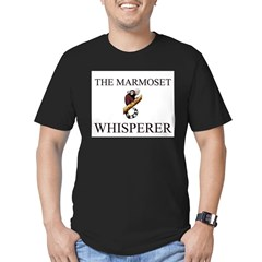 The Marmoset Whisperer Men's Fitted T-Shirt (dark)