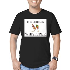 The Chicken Whisperer Men's Fitted T-Shirt (dark)