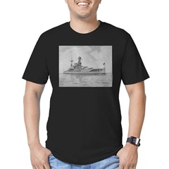 HMS Barham Men's Fitted T-Shirt (dark)