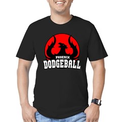Phoenix Dodgeball Men's Fitted T-Shirt (dark)
