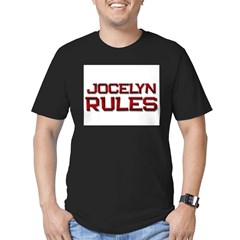 jocelyn rules Men's Fitted T-Shirt (dark)