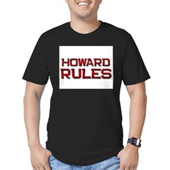 howard rules Men's Fitted T-Shirt (dark)