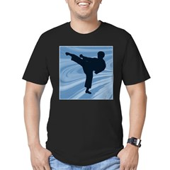 Water Boy Men's Fitted T-Shirt (dark)