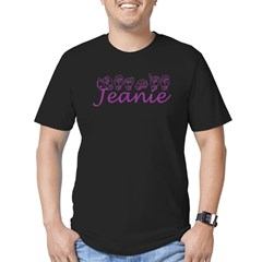 Jeanie Men's Fitted T-Shirt (dark)