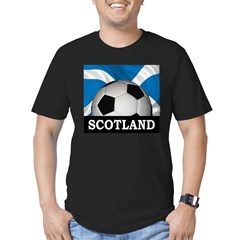 Football Scotland Men's Fitted T-Shirt (dark)