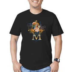Immaculate Heart of Mary Men's Fitted T-Shirt (dark)