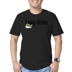 Ditch Banging Men's Fitted T-Shirt (dark)