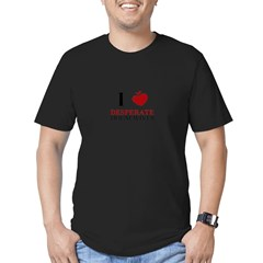 I love Desperate Housewives Men's Fitted T-Shirt (dark)