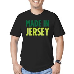 made_jersey_square Men's Fitted T-Shirt (dark)