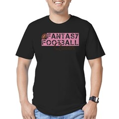 Fantasy Football Queen Men's Fitted T-Shirt (dark)
