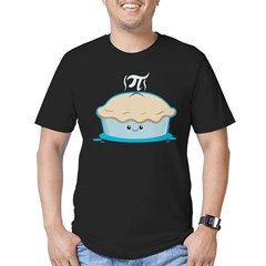 I Like Pi Men's Fitted T-Shirt (dark)