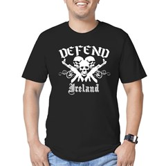 Defend IRELAND Men's Fitted T-Shirt (dark)