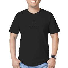 Starfleet Academy Men's Fitted T-Shirt (dark)