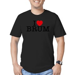 brum_v Men's Fitted T-Shirt (dark)