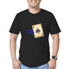 POKER Men's Fitted T-Shirt (dark)