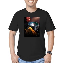 Ancient Aliens Men's Fitted T-Shirt (dark)