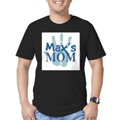 Max's Mom Men's Fitted T-Shirt (dark)