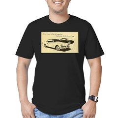 Two '53 Studebakers on Men's Fitted T-Shirt (dark)